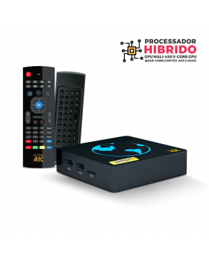 Receptor POP TV ULTRA HD 4k HIBRIDO WIFI Android Internet