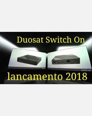 Duosat Switch On - 4K WIFI Android Via Internet
